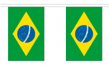 BRAZIL BUNTING - 18 METRES 30 FLAGS